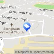 Map Zero to eat Seonghwan, South Korea