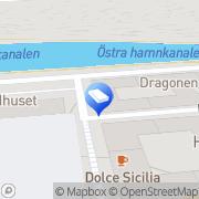 Karta Advokatfirman Jan F.Urwitz Malmö, Sverige