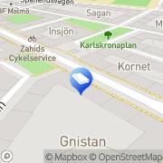Karta Tangopalatset, Nya AB Malmö, Sverige