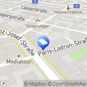 Karte Architekturbüro Krabath Martin Dipl-Ing Arch Salzburg, Österreich