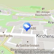 Karte WABE Verein Salzburger Wohnungs- u Arbeitsbeschaffungscooperative gemeinnützige GmbH Salzburg, Österreich
