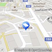 Karte Eyedea werbe Salzburg, Österreich
