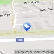 Karta Stoby Måleri AB Kävlinge, Sverige