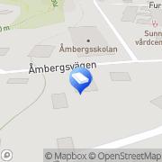 Karta Event Center i Sunne AB Sunne, Sverige