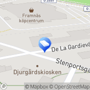 Karta Nordsjö Idé & Design Lidköping, Sverige