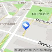 Karta Brf Västanfläkt Lund, Sverige