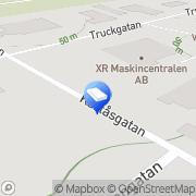 Karta XR Logistik AB Lidköping, Sverige