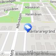 Karta Roland Olssons Åkeri, Åkeriäg. Staffanstorp, Sverige