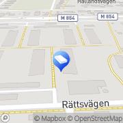 Karta Lars Peter Anderssons Åkeri Staffanstorp, Sverige