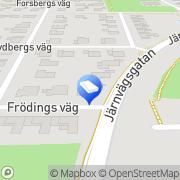 Karta Geysir Bygg AB Staffanstorp, Sverige
