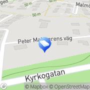 Karta Jörgens Vattenfilterservice Svedala, Sverige