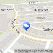 Karta Sui Productions Lund, Sverige