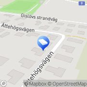 Karta Lövgrens VVS-service Trelleborg, Sverige