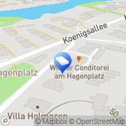 Karte Reinigung am Hagenplatz GmbH Berlin, Deutschland