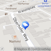 Karte Maigrün Friseure Berlin, Deutschland
