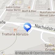 Karte Backhaus Felicitas Textilpflege Berlin, Deutschland