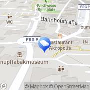 Karte Tiemann Rechtsanwaltskanzlei Grafenau, Deutschland