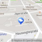 Karte rent24 Coworking Berlin Mitte Berlin, Deutschland