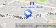 Karte WeWork Berlin, Deutschland
