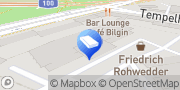 Karte Friedrich Rohwedder GmbH Berlin, Deutschland