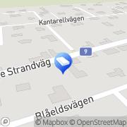 Karta Mogvall Byggnadsplåtslageri AB Beddinge Läge, Sverige