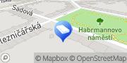 Map Kuděj Tomáš Mgr. - ADVOKÁT Pilsen, Czech Republic