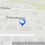 Karta Törnqvist Byggentreprenad Ulricehamn, Sverige