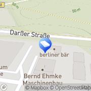 Karte berliner bär eG Berlin, Deutschland