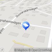 Karta JPA Bygg AB Skoghall, Sverige