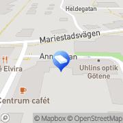 Karta Fastighetsbyrån Swedbank Götene, Sverige