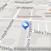 Karta CK Revisioner AB Skurup, Sverige