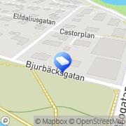 Karta Blueprint Karlstad, Sverige