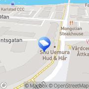 Karta Flermoen Fastigheter AB Karlstad, Sverige