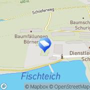 Karte Aussenanlagen Schurig Dippoldiswalde, Deutschland