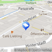 Karte Anwaltsbüro Dr Stefan Hoffmann - Dr Thomas Herzog Vöcklabruck, Österreich