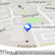 Karta HSB Bostadsrättsförening Olof Ystad, Sverige