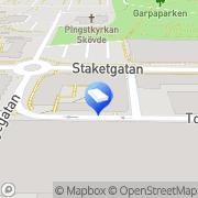 Karta Riksbyggens Brf Skövdehus Nr 8 Skövde, Sverige