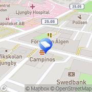 Karta Älgen Förskola Fritidshem Ljungby, Sverige