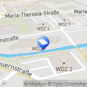 Karte HOFBAUER:ARCHITECT Ziviltechniker Wels, Österreich