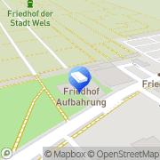 Karte Gärtnerei Dopetsberger Wels, Österreich