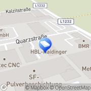 Karte HBL HAIDINGER GesmbH Buchkirchen, Österreich