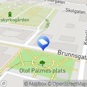 Karta Prinfo Bergs Jönköping, Sverige