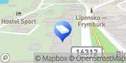 Map NEUMANN účetnictví s.r.o. Frymburk, Czech Republic