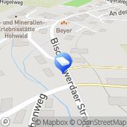 Karte Sternkiker Werbetechnik Bretnig, Deutschland