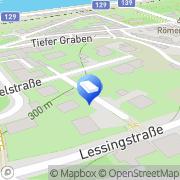 Karte ATELIER HAUPTPLATZ ARCHITEKTEN ZIVILTECHNIKER Linz, Österreich