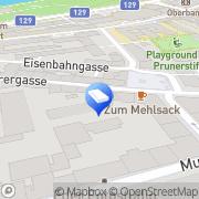 Karte Hawel - Eypeltauer - Gigleitner & Partner Rechtsanwälte Linz, Österreich