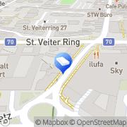 Karte Haus-Infrarotheizungen Klagenfurt, Österreich