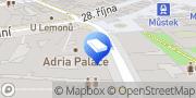 Map JUDr. Ilona Remešová, notář v Praze Prague, Czech Republic