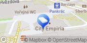 Map Regus Praha Prague, Czech Republic