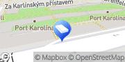 Map Regus - Prague, River Garden Prague, Czech Republic